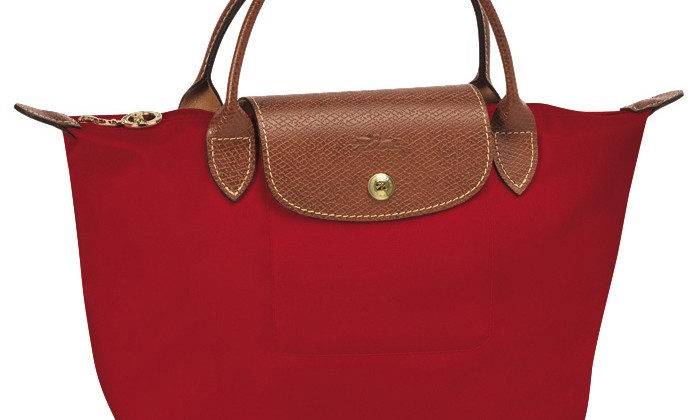Longchamp Le Pliage Small Handbag Red