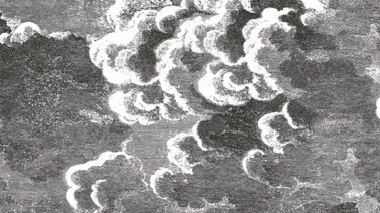 Tapeta Fornasetti, cloud.