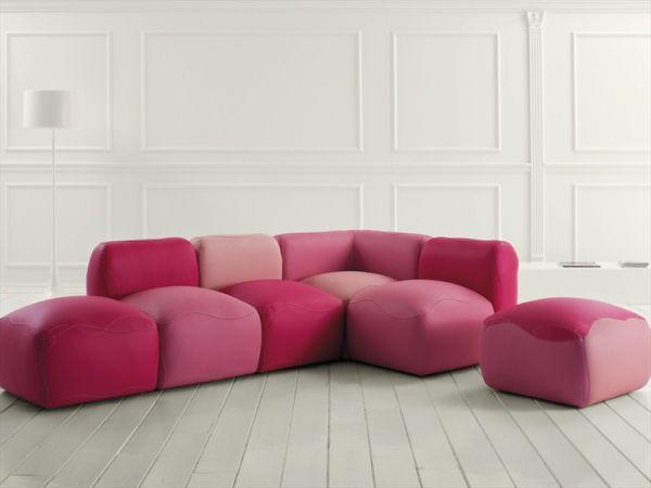 Modular sofa, Karim Rashid