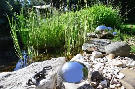 Ogród w naturalistycznym stylu pod Konstancinem