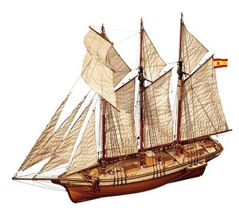 Model szkuner Esmeralda, modelnet.pl, 617,40 zł
