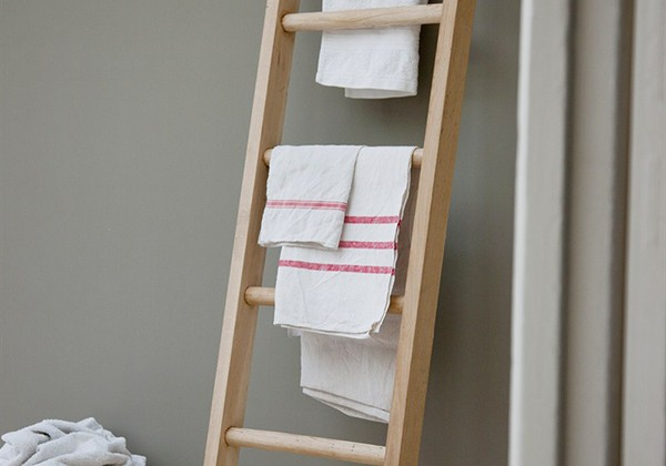 Hambledon Raw Oak Towel Ladder, ok. 90 funtów