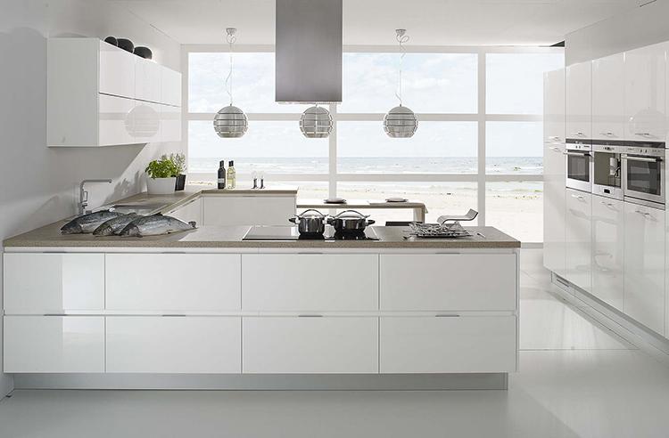 Biała kuchnia  Blog o wnętrzach, designie i architekturze   -> Kuchnia Biala Black Red White