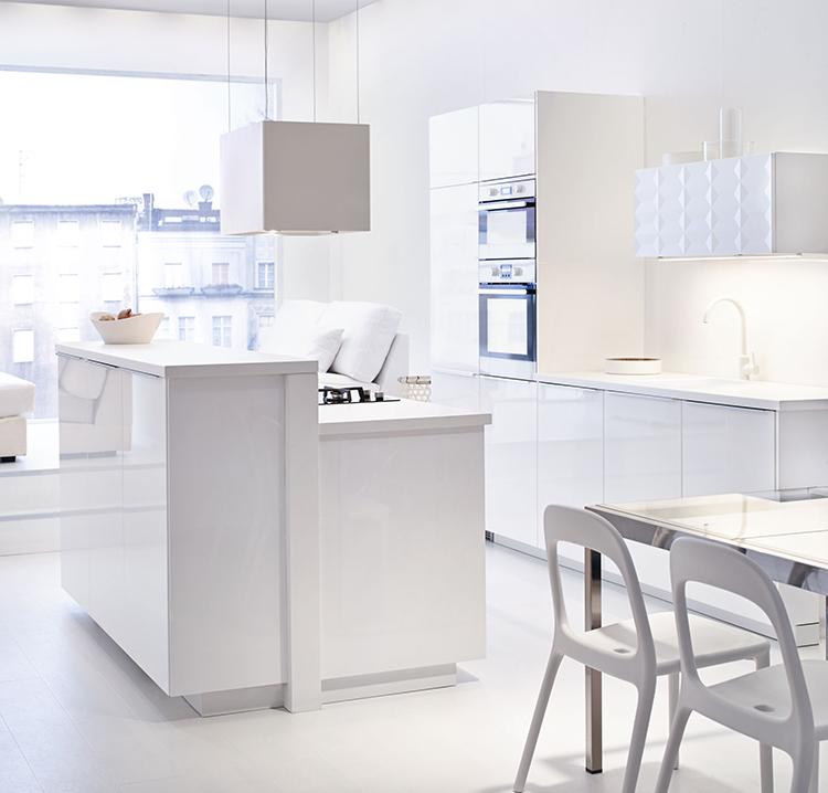 Biała kuchnia  Blog o wnętrzach, designie i architekturze   -> Kuchnia Ikea Czas Oczekiwania