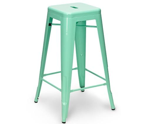 Miętowy stołek TOLIX
