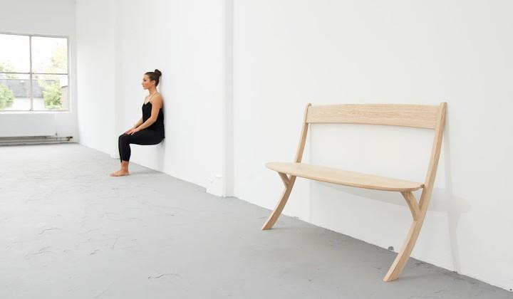 Leaning Bench/projekt: Izabela Bołoz