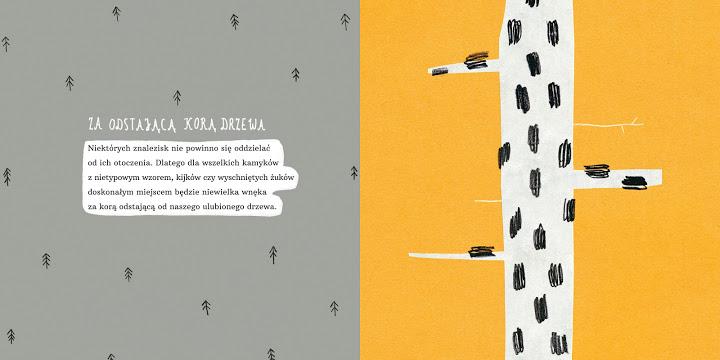 """Książka dla dzieci """"Skrytki""""/projekt: Agata Królak"""