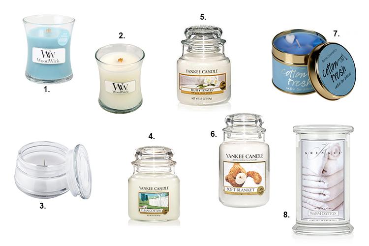 swiece o zapachu swiezego prania, zapach czystosci