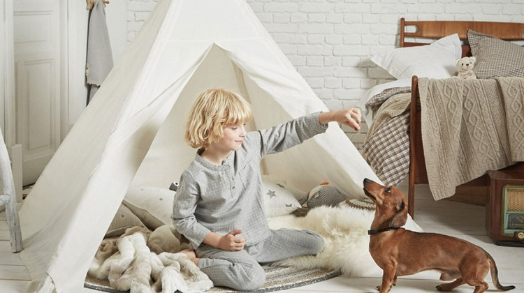 Tipi, namiot dla dziecka, zara home