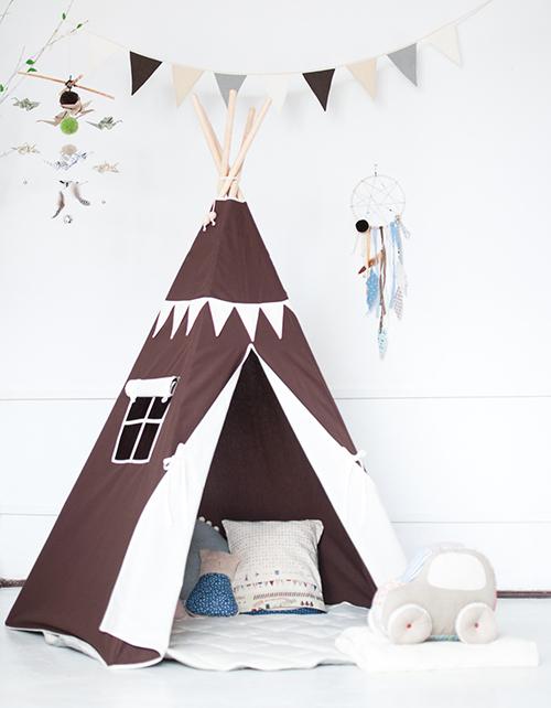 namiot tipi dla dzieci blog o wn trzach designie i. Black Bedroom Furniture Sets. Home Design Ideas