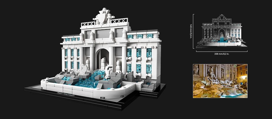 lego fontanna di trevi