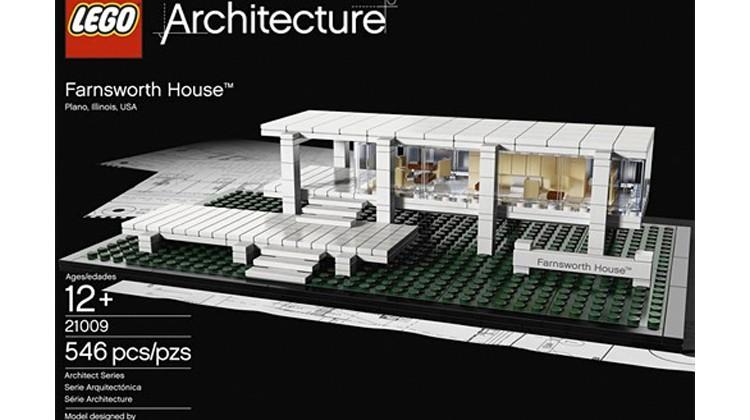 Dom pani Farnsworth, Lego Architecture