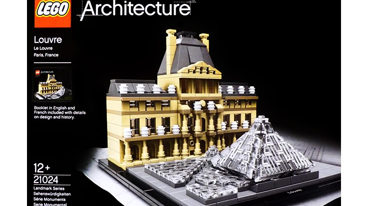 Luwr, Lego Architecture